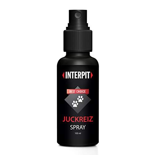 Interpit Juckreiz Spray | HOCHWIRKSAM | Naturprodukt für Haustiere | Pflegt die Haut bei Juckreiz durch Läuse, Flöhe oder Milben | Grasmilben | Katze & Hund | 100 ML