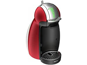 Krups YY1782FD Dolce Gusto Machine à Capsule Plastique Noir/Rouge 22 x 15,9 x 28,7 cm