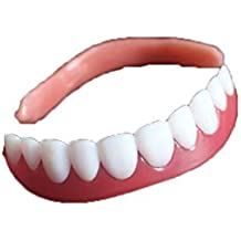 Perfect Instant Smile Comfort Flex Dientes Blanqueamiento Dentadura Pegar Dientes Falsos Estuche Cosmético Superior Diente Cubierta