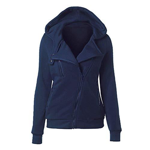 Zhuo Qun Shang Mao Beiläufige Winter-Frauen-grundlegende Jacken-Wolljacke-Baumwollkapuzenpulli-weiblicher Mantel-Schwarz-Oberbekleidung-Kapuzenpulli-Sweatshirts Plus Größe