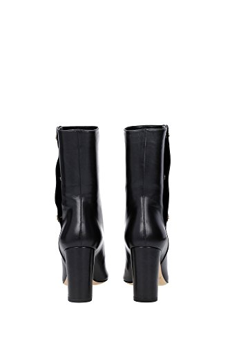 DAYNORESBLACK Jimmy Choo Chaussure mi montantes Femme Cuir Noir Noir