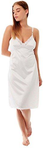 unbrabded Damen Nachthemd Weiß