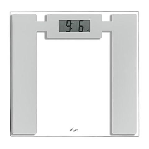 Weight Watchers Ultra Slim Glass Electronic (Elettronico Digitale Scala In Vetro)