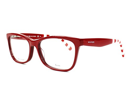 Tommy Hilfiger Damen TH 1483 C9A 53 Sonnenbrille, Rot (Red),
