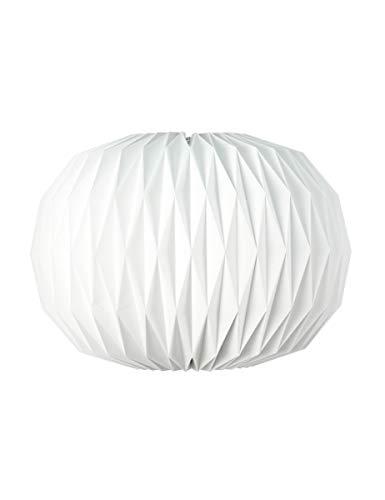 Generique - Boule Origami Blanche 47 x 27 cm