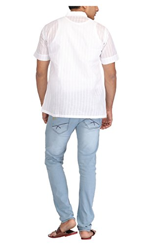 ADA-Mens-Cotton-Short-Kurta-A145421