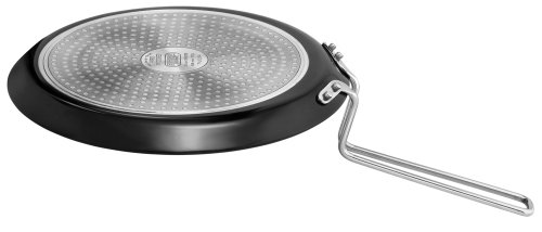 Futura Hard Anodised Induction Model Flat Tawa, 26cm  available at amazon for Rs.1130