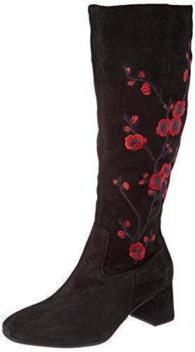 Gabor Basic, Stivali Donna Nero (17 Schwarz Rot)