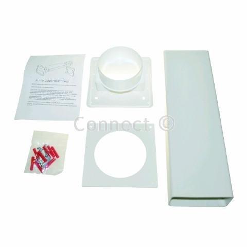Electruepart Vent Kit (Electruepart, Consumable) Ideal for venting tumble dryers and cooker hoods