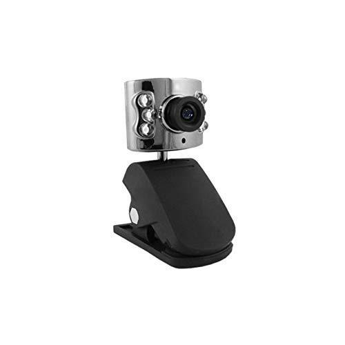 WD108 GiXa Technology High Definition USB Webcam mit Mikrofon HD Mini Web Internet Kamera für Chat Konferenz PC/Notebook/Laptop/Skype MSN AOL Yahoo mit Klemmfuß und Stellfuß oder Tischstativ - Internet-web-kameras