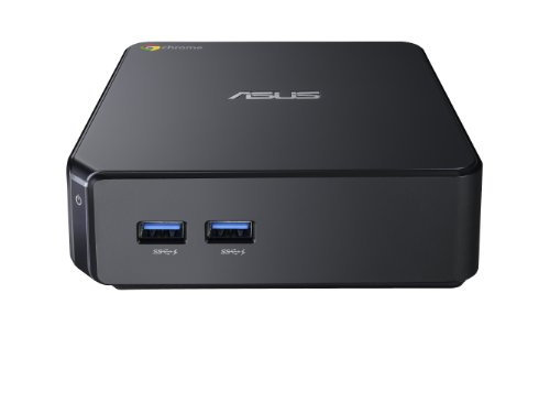Asus CHROMEBOX2-G072U Mini Desktop-PC (Intel Celeron 3215U, 2GB RAM, 16GB SDD, Intel HD Graphics, ChromeOS) schwarz