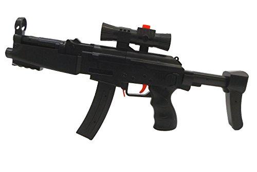 Brigamo 1567 - MP5 Maschinenpistole schießt Hydrogel Kugeln und Nerf Pfeile, inkl. 400 Schuß Munition thumbnail