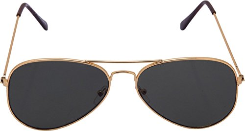 Xlnc Aviator Sunglasses (Golden Green)