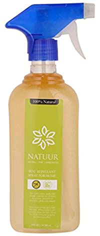 NATUUR Bug Repellant Spray For Home - 500 ml (Clear)