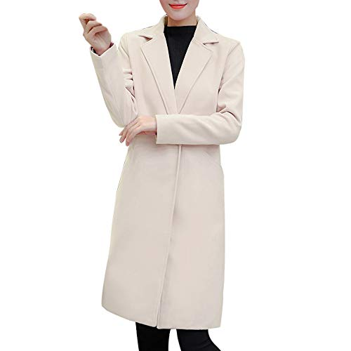 ZODOF Chaqueta Slim para Mujer para Mujer otoño Invierno Chaqueta Casual Outwear Parka Cardigan Abrigo...