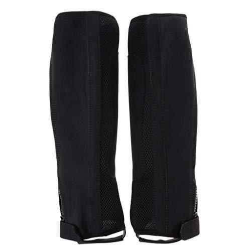 Tubayia 1 Paar Wasserdicht Gamaschen Atmungsaktiv Beinschutz Reitgamaschen für Herren, Damen (XL)