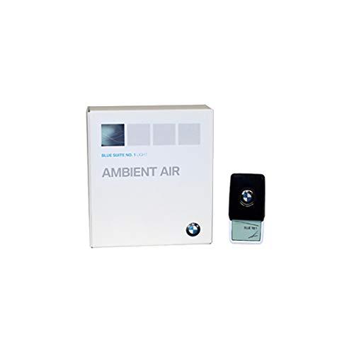 BMW, Ambient Air, profumatore per abitacolo, originale BMW, completo di fragranza 'Blue Suite No.1', diffusore di profumo, per BMW Serie 5 G3x, Serie 7 G1x