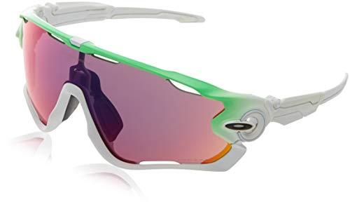 Oakley Unisex-Erwachsene 0Oo Jawbreaker 929015 0 Sonnenbrille, Grün (Light Green/Fire), 0