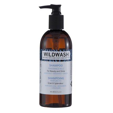 WildWash Haustier Duft Nr. 2Shampoo für Schönheit und Glanz 300ml -