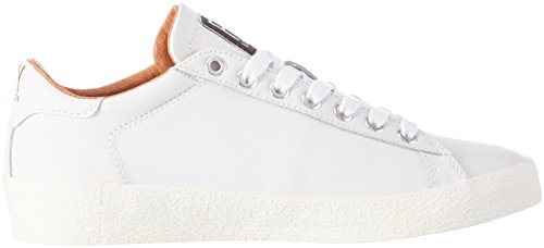 FLY London Berg823fly, Baskets Basses Femme Blanc (White 000)