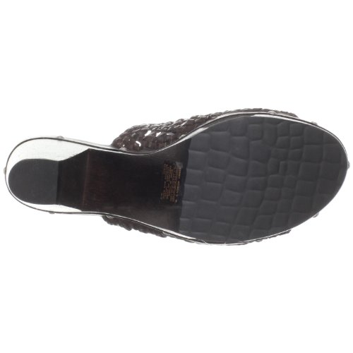 Rockport Ks Slide Woven, Damen Sandalen Braun (Chocolate)