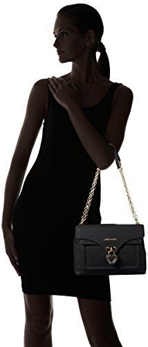 Love Moschino Jc4099, Sacs Portés Épaule Femme, 7x20x29 cm Noir (Black)