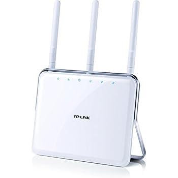 TP-LINK Archer C8 - Router AC1750 Mbps Banda Dual WiFi Inalámbrico Gigabit (450 Mbps en 2.4 GHz, 1300 Mbps en 5 GHz, puertos USB 3.0, USB 2.0, color blanco, 3 años de garantía), color blanco