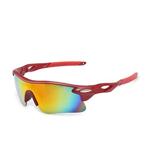 Yuqianqian Polarisierte Sportbrille Sonnenbrille Fahrradbrill Sportbrillen Sonnenbrillen Sonnenbrillen Fahrrad Reitbrillen Outdoor Radfahren Outdoor Sports Brillen Sonnenbrillen Unisex Outdoor