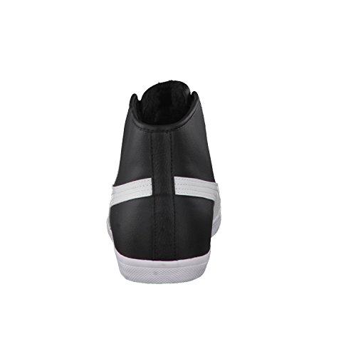 Puma Herren Sneaker Elsu Mid Fur 359256 Black-White