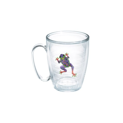 Tervis Frog Purple 15-Ounce Mug, Boxed by Tervis (Oz Tervis 15 Becher)