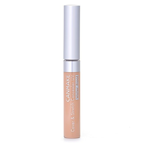 IDA Laboratories CANMAKE | Concealer | Cover & Stretch Concealer UV 02 Natural Beige SPF25 PA++, Waterproof (japan import)