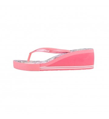 zeppe scarpe Superga S24P653_ROSA Pink