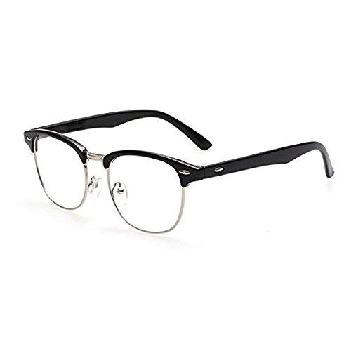 EFK UV Brillen Blaues Licht-Blockierende GläSer Gamer Brille Eyewear for PC, Smartphone, Computer Lesebrillen- Transparent Linsen Goggles