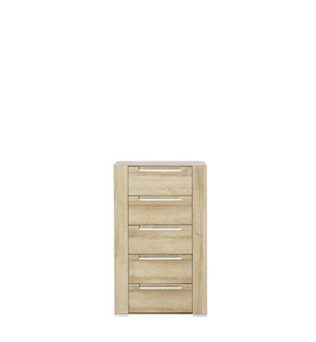 Paul DORRA61023 Kommode, Holz, braun, 41 x 65 x 110 cm - 3