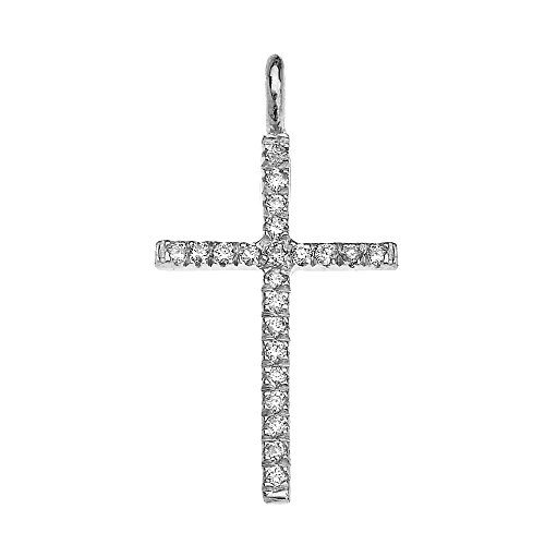 10-ct-white-gold-cubic-zirconia-fine-cross-pendant-necklace-comes-with-an-18-chain
