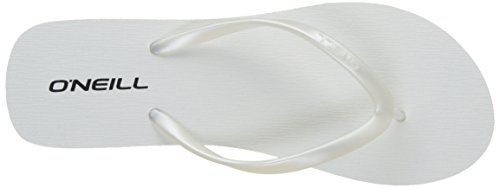 O'Neill Fw Wedge, Tongs femme Blanc (Rose Beetroot P)
