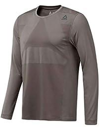 d7e5d6cb2dc Reebok Therma Vent Long Sleeve Top - AW18 Grey