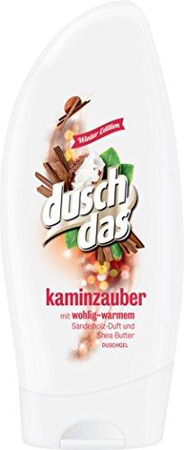 Duschdas Duschgel Winter Edition Kaminzauber, 6er Pack (6 x 250 ml)