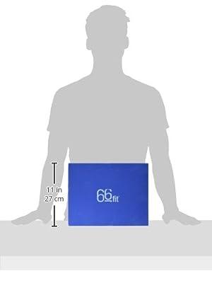66fit Pilates Sitz- u. Kopfblock-Set - Schaumstoff, Yoga, korrekte Körperhaltung