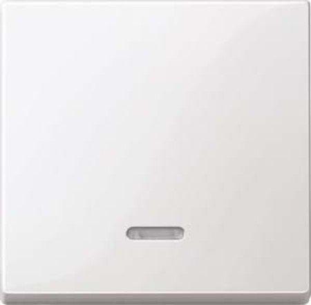 Merten 436019 Wippe mit Kontrollfenster, polarweiß glänzend, System M -