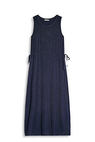 edc by ESPRIT Damen Kleid Blau (Dark Blue 405)