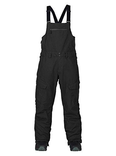 Burton Herren Reserve Bib Pant Snowboardhose, True Black, L