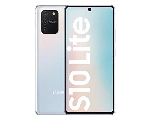 Samsung Galaxy S10 Lite - Smartphone de 6.7' FHD+ (4G, 8GB RAM, 128GB ROM, cámara trasera 48MP+2MP(UW)+5MP(Macro)+5MP, cámara frontal 32MP, Octa-core Snapdragon8150), Prism White [Versión española]
