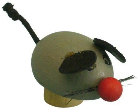 Niermann Standby 9458 - Happy-Maus, passend für alle Niermann Standby Dekoartikel