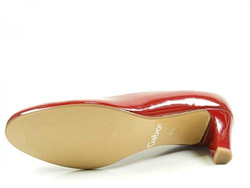 Gabor Fashion, Escarpins Femme Rouge