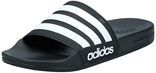 Adidas Adilette Shower, Herren Dusch- & Badeschuhe, Schwarz (Core Black/Footwear White/Core Black 0), 40 1/2 EU