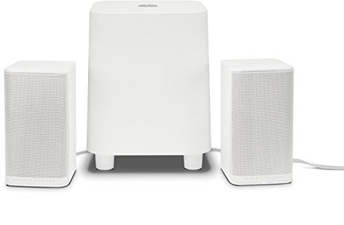 Preisvergleich Produktbild HP S7000 (K7S76AA) 2.1 PC Lautsprecher,  weiß