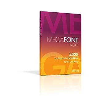 MegaFont NEXT: Die 5.000 besten Schriften für Windows 10 / 8.1 / 8 / 7 / Vista / XP / Mac / Linux
