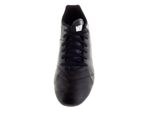 Nike Tiempo Genio Il Leather, Chaussures de Football Compétition Homme Black