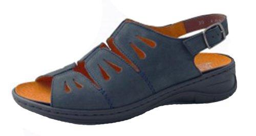Jenny by ara, Scarpe con cinturino alla caviglia donna, Blu (Blu), 38